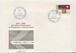 Liechtenstein Stamp On FDC - Covers