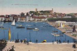 AP67 Cannes, Le Port Et Le Mont Chevalier - CAP Postcard - Cannes