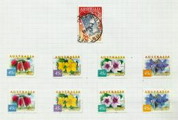 Australie N°1737 à 1740, 1740A à 1740D Cote 6 Euros (1736 Offert) - 1990-99 Elizabeth II