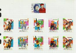 Australie N°1742 à 1751 Cote 7.50 Euros (1741 Offert) - 1990-99 Elizabeth II