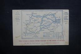 FRANCE - Carte Postale - Course Automobile De La Coupe Gordon Bennett En 1905 - Carte Du Circuit  - L 37681 - Voitures De Tourisme