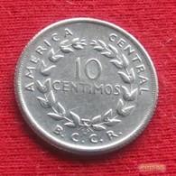 Costa Rica 10 Centimos 1958 KM# 185.1a - Costa Rica