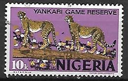 NIGERIA    -   Série Courante.  Oblitéré.   Guépards - Nigeria (1961-...)