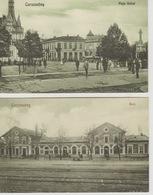 19 / 8 / 171.  -CARANSEBES - 2 CPA - Roumanie