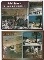 El Shems    Lot 2 Cartes   Résidence  CNRO - Gewerkschaften