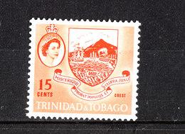 Trinidad &Tobago -1960-66. Emblema Dell' Isola. Island Emblem, High Values Of The Ordinary Series. MNH RARE - Francobolli