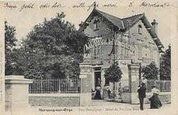 91, Essonne, MORSANG SUR ORGE, Parc Beauséjour - Hotel Du Pavillon Bleu, Scan Recto Verso - Morsang Sur Orge