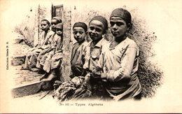 Algérie - Types Algériens - Kinderen