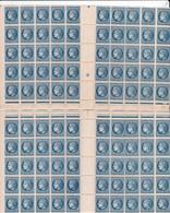 Planche  Complète En 2 Partie De La Cérès De Mazelin 1 F 30 Bleu Neuve Gommée - 1945-47 Cérès De Mazelin