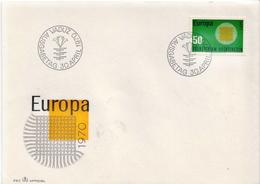 Liechtenstein Stamp On FDC - Europa-CEPT
