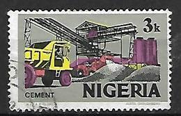 NIGERIA    -   Série Courante.   Camion  /  Ciment . Oblitéré . - Nigeria (1961-...)