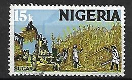 NIGERIA    -   Série Courante.   Canne à Sucre . Oblitéré . - Nigeria (1961-...)