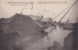 SAINT MALO          Naufrage  Du HILDA......19 Nov 1905....396 - Saint Malo