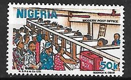 NIGERIA    -   Série Courante.   Bureau De Poste . Oblitéré . - Nigeria (1961-...)