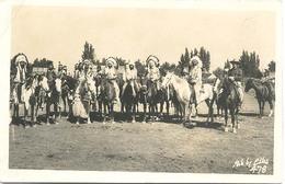 Indianen, (type Fotokaart) - Amerika