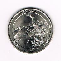 //  U.S.A.  1/4 DOLLAR  FLORIDA - EVERGLADES   2014 P - Émissions Fédérales