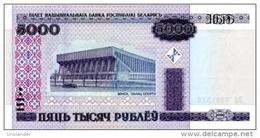 BELARUS 5000 Rubles 2000(2011) P 29b **UNC** - Wit-Rusland