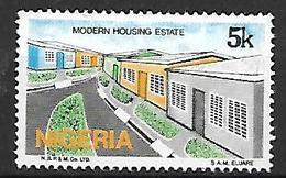 NIGERIA    -   Série Courante.   Maisons Modernes. Oblitéré . - Nigeria (1961-...)