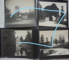 Photox8 OVERIJSE 1897 Dorp Oude Weg Kerk Kasteel - Lieux
