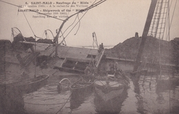 SAINT MALO          Naufrage  Du HILDA......19 Nov 1905....399 - Saint Malo