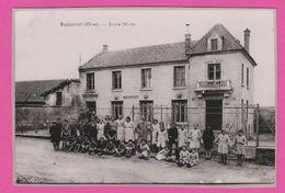 MACHEMONT - CP 114 - Carte Photo , L'école Mixte - France