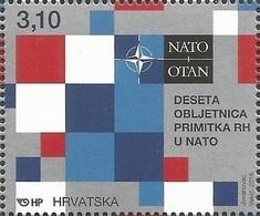 HR 2019-1371 NATO,. HRVATSKA CROATIA, 1 X 1v. MNH - Kroatië