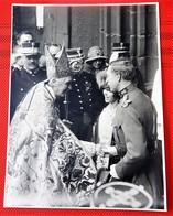 Roi Albert I, Reine Elisabeth Et Le Cardinal Mercier  ( Photo  L. Van Baelen -  Mechelen) - Familles Royales