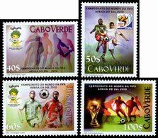 CAP VERT Coupe Du Monde FIFA 2010 4v Neuf ** MNH - Kap Verde