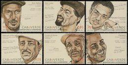 CAP VERT Compositeurs/Interprètes 6v 2012 Neuf ** MNH - Kap Verde