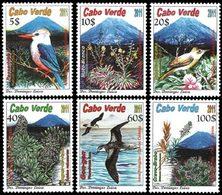 CAP VERT Oiseaux Et Flore 6v 2011 Neuf ** MNH - Kap Verde