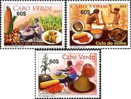 CAP VERT Le Millet 3v 2014  Neuf ** MNH - Kap Verde