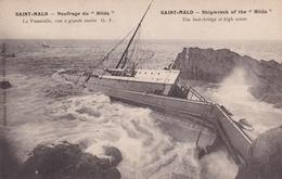 SAINT MALO          Naufrage  Du HILDA......19 Nov 1905....400 - Saint Malo