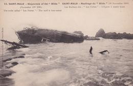 SAINT MALO          Naufrage  Du HILDA......19 Nov 1905....401 - Saint Malo