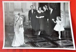 Léopold III, Liliane Baels Princesse De Réthy, Roi Baudouin, Reine Elisabeth (Photo Anvers Presse - Defraene Nestor) - Koninklijke Families
