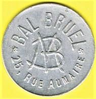 Jeton De Bal - BRUEL - Paris - Monétaires / De Nécessité