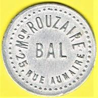 Jeton De Bal - ROUZAIRE - Paris - Monétaires / De Nécessité