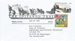 USA 1999 Nome Alaska Iditarod Trail Gold Rush FDC Cover - Eerste Uitgaves (FDC)