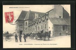CPA Fougéres, Caserne Du Train Des Equipages - France