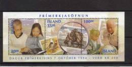 Islande Bloc N° 17 Neuf  De 1994 Pour La Journée Du Timbre - Blocs-feuillets