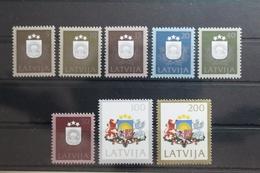 Lettland 305-312 ** Postfrisch #TC499 - Lettland