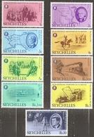 Seychelles - N° 355 à 363  Serie Complete Neuve** - 1976 - Seychelles (1976-...)
