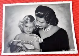 Liliane Baels Princesse De Réthy Et La Princesse Marie-Christine De Belgique -  (Photo R. Marchand) - Familles Royales