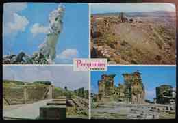 PERGAMUM - IZMIR - The Nike, Monument Of Victory - Ruins Of The Theatre - Theatre Of Asclepion - Basilica Turkey -    Vg - Turchia