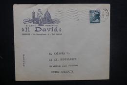 ITALIE - Enveloppe Commerciale Illustrée De Firenze Pour La France En 1967 - L 37714 - 6. 1946-.. Repubblica