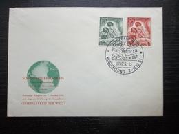 Deutshe Post: 1951 UnAd. Ca-FDC (#UR7) - Covers & Documents