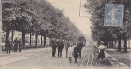 42 / SAINT ETIENNE / LE COURS FAURIEL VERS L USINE MIMARD ET BLACHON / PLAN RARE - Saint Etienne