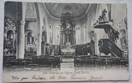 CPA ATH Intérieur Eglise Saint Martin - Ath
