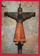 CARTOLINA NV ITALIA - SCHLUDERNS SLUDERNO - St. Michael Am Friedhof - Crocifisso - 10 X 15 - Tableaux, Vitraux Et Statues