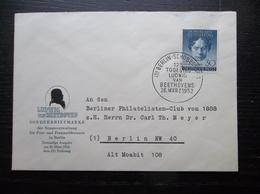 Deutshe Post: 1952 Ca-FDC To Berlin (#UR8) - [5] Berlin