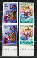 1981 Islanda Iceland EUROPA CEPT EUROPE 2 Serie Di 2v. MNH** - 1981